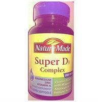 Nature Made Super D3 Complex, Liquid Softgels, 90 ea