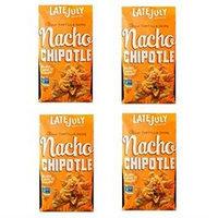 Late July Snacks Clasico Tortilla Chips Nacho Chipotle 5.5 oz - Vegan