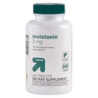 up & up up&up Melatonin 3 mg Tablets - 240 Count