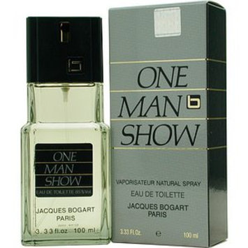 Jacques Bogart One Man Show Eau De Toilette Spray for Men, 3.3 fl oz