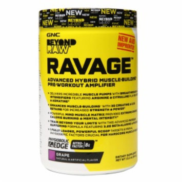 Raw Hardcore GNC Beyond RAW RAVAGE - Grape