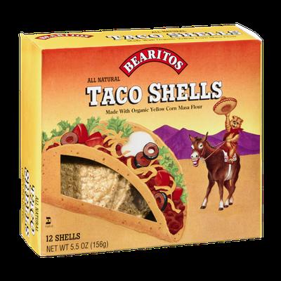 Bearitos Taco Shells - 12 CT