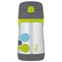 Thermos Foogo 10 oz. Stainless Steel Straw Bottle