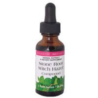 Eclectic Institute Inc Stone Root Witch Hazel, 1 Oz with Alcohol (Pack of 4)