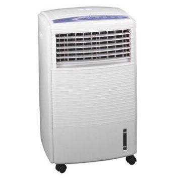 Sunpentown SF-608R White Portable Evaporative Air Cooler Energy