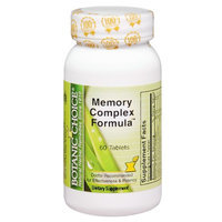Botanic Choice Memory Complex Formula Dietary Supplement Tablets