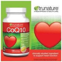 TruNature CoQ10 100 mg (Coenzyme Q10), 150 Softgels
