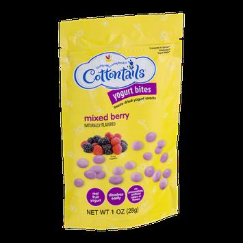 Cottontails Yogurt Bites Mixed Berry