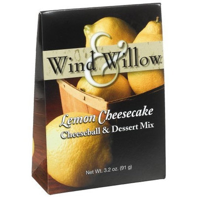 Wind & Willow Lemon Cheesecake Cheeseball, 3.2-Ounce Boxes (Pack of 6)