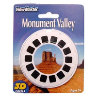 View Master MONUMENT VALLEY - ViewMaster 3 Reel Set