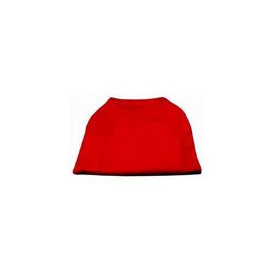 Ahi Plain Shirts Red 6X (26)
