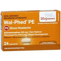 Walgreens Wal-Phed PE Maximum Strength Sinus Headache Caplets