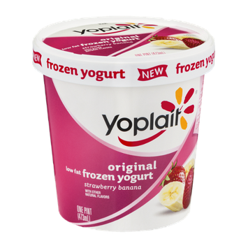 Yoplait® Original Strawberry Banana Low Fat Frozen Yogurt