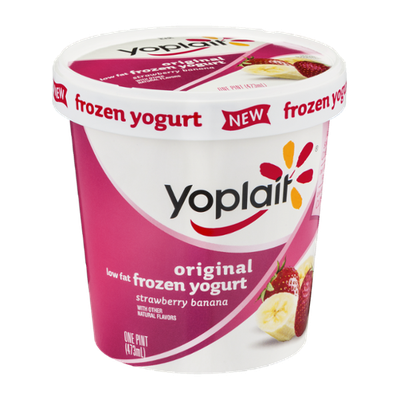 Yoplait® Original Strawberry Banana Low Fat Frozen Yogurt