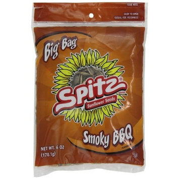 Spitz Smoky Bbq Sunflower Seeds, 6-Ounce (Pack of 12)