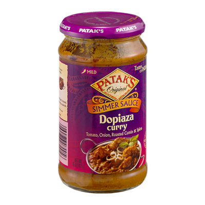 Patak's Tastes Of India Dopiaza Curry Simmer Sauce
