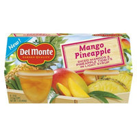 Del Monte Mango Pineapple Fruit Cups 4 oz, 4 pk