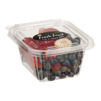 Ahold Fresh Fruit Small Strawberry and Blueberry Cup