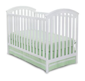 Delta Children Arbour 3-in-1 Convertible Crib Finish: White