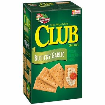 Keebler Club Buttery Garlic Crackers