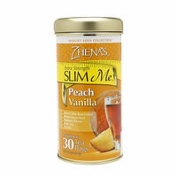 Zhena's Gypsy Tea Extra Strength SLIM Me Tea, Peach Vanilla, 30 ea
