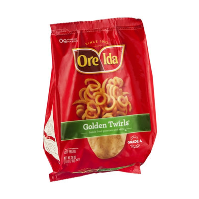 Ore-Ida Golden Twirls French Fried Potatoes with Skins