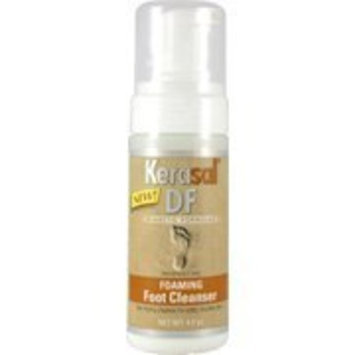 Kerasal DF Foaming Foot Cleanser - For Softer Healthier Feet, 4 oz,(Kerasal)