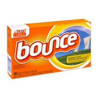 Bounce Outdoor Fresh 4in1 Fabric Softener Sheets - 40 CT