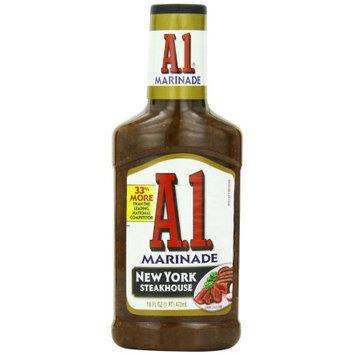 A-1 A 1 Steak House Marinade New York, 16 FL OZ (Pack of 6)