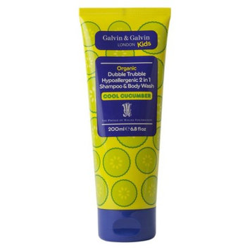Dubble Trubble Cucumber 2 in 1 Shampoo & Body Wash - 6.8 fl oz