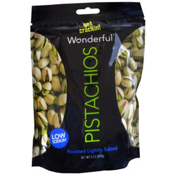Wonderful Pistachios Lightly Salted, Roasted, 8 oz