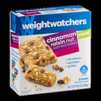 Weight Watchers Cinnamon Raisin Nut Oatmeal Bakes - 5 CT