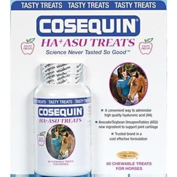 Nutramax Labs - Cosequin HA+ASU Treats for Horses - 60 Chewables