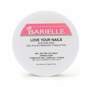 Barielle Love Your Nails Acetone-Free Nail Polish Remover Towelettes