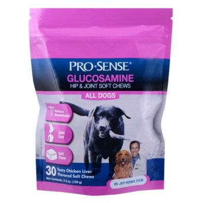 Pro-Sense Glucosamine Soft Chews, Tasty Chicken Liver, 4.2 oz