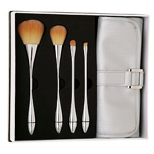 ABT Chrome Collection 4 Brush and Roll Set