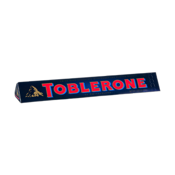 Toblerone of Switzerland Swiss Dark Chocolate with Honey and Almond Nougat