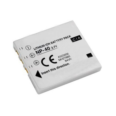Replacement Battery For Fuji NP40 (Single Pack)