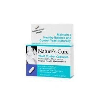 Nature's Cure Fem Care Yeast Control Capsules 30 ea
