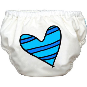 Winc Design Limited Charlie Banana Extraordinary Training Pants, Blue Petit Coeur on White