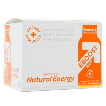 EBOOST Natural Energy Shots Orange