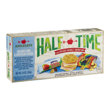 Applegate Half Time Uncured Ham & American Cheese