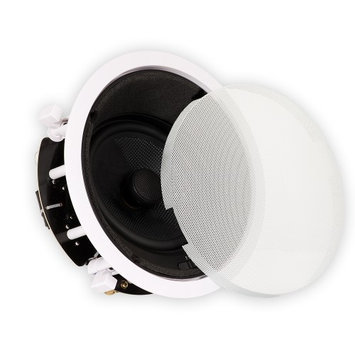 Theater Solutions Symphony TSS6A 200 W RMS Speaker - 2-way - White - 25 Hz to 21 kHz - 8 Ohm - In-ceiling