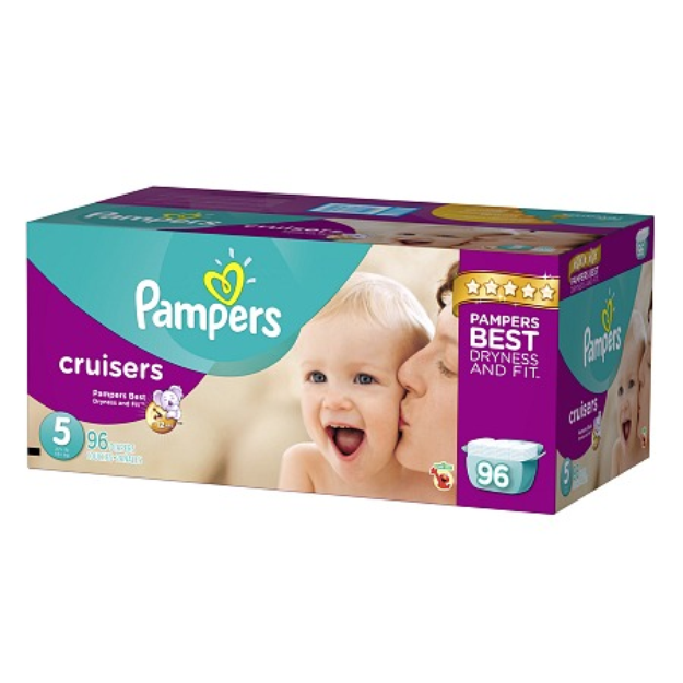 Pampers Cruisers Diapers Size 5 Giant Pack