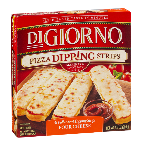DiGiorno Pizza Dipping Strips Four Cheese - 4 CT