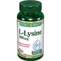 Nature's Bounty L-Lysine 500mg Tablets