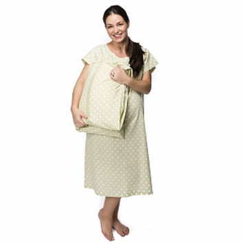 Baby Be Mine Charlotte Gownie Hospital Gown with Pillowcase, XXL, 1 ea