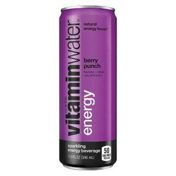 Vitamin Water Energy Berry Punch 12oz