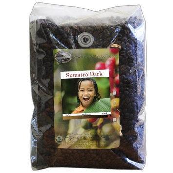 Organic Camano Island Coffee Roasters Sumatra, Dark Roast, Whole Bean, 5-Pound Bag