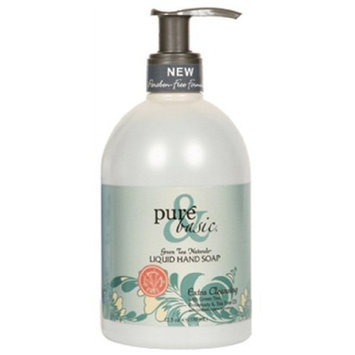 Pure & Basic, LIQUID HAND SOAP EXTRA CLEANSING - 12.5 OZ